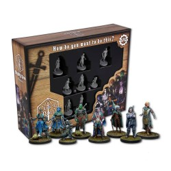 Critical Role pack 8 figurines Mighty Nein *ANGLAIS*