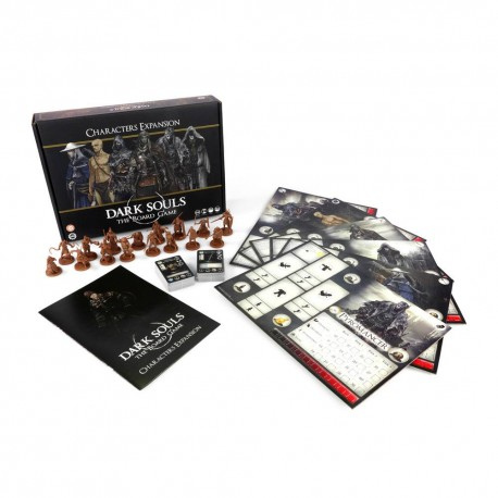 Dark Souls extension jeu de plateau The Board Game Characters *ANGLAIS*