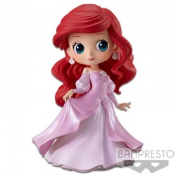 Disney figurine Q Posket Ariel Princess Dress B (Pink Dress) 14 cm