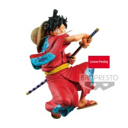 One Piece statuette PVC King Of Artist Monkey D. Luffy Wanokuni 16 cm