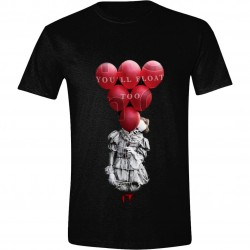 « Il » est revenu T-Shirt Red Balloons Float
