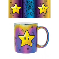 Super Mario mug Metallic Star Power