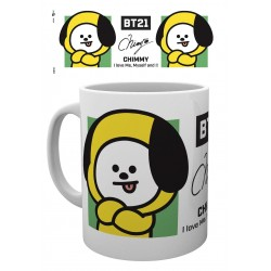 BT21 mug Chimmy