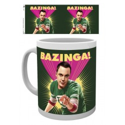 Big Bang Theory mug Sheldon Bazinga