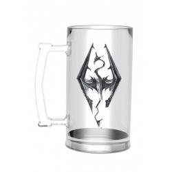The Elder Scrolls V Skyrim chope Dragon Symbol
