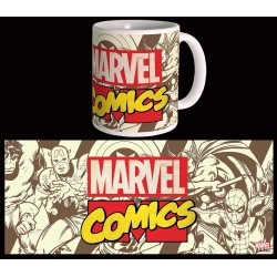 Marvel Comics mug Retro Logo