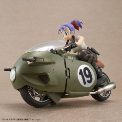 Dragonball Z figurine Plastic Model Kit Figure-rise Mechanics Bulma's Variable No. 19 Motorcycle 16