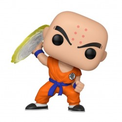 Dragon Ball Z Figurine POP! Animation Vinyl Krillin w/ Destructo Disc 9 cm