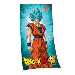 Dragon Ball Super serviette de bain Super Saiyan God Super Saiyan Son Goku 150 x 75 cm