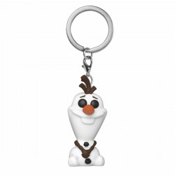 La Reine des neiges 2 porte-clés Pocket POP! Vinyl Olaf 4 cm