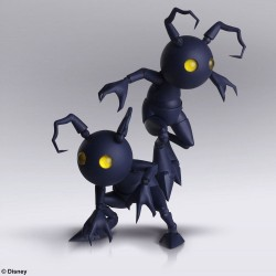 Kingdom Hearts III Bring Arts set 2 figurines Shadow 10 cm