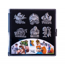 Rare Heritage pack 6 pin's Limited Edition