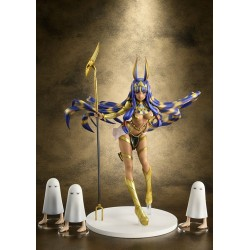 Fate/Grand Order statuette PVC 1/7 Caster/Nitocris Limited Edition 27 cm