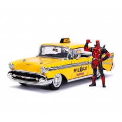 Deadpool 1/24 Deadpool Yellow Taxi métal