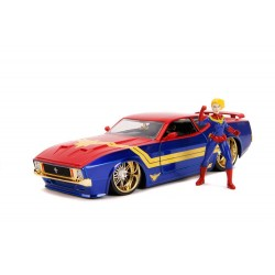 Marvel Hollywood Rides 1/24 1973 Ford Mustang Mach 1 métal