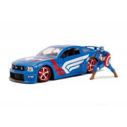 Marvel Hollywood Rides 1/24 2006 Ford Mustang GT métal