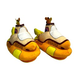 The Beatles Chaussons Peluche Yellow Submarine 35 cm