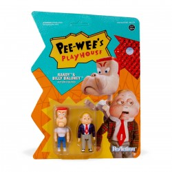 Pee-wee's Playhouse pack 2 figurines ReAction Randy & Billy Baloney