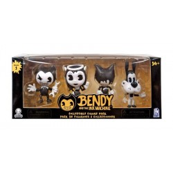 Bendy and the Ink Machine série 1 pack 4 figurines PVC 7 cm