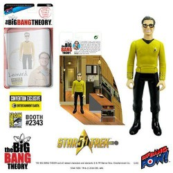 The Big Bang Theory figurine avec diorama Leonard TOS EE Exclusive 10 cm