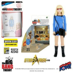 The Big Bang Theory figurine avec diorama Bernadette TOS EE Exclusive 10 cm