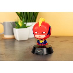 Marvel veilleuse 3D Icon Captain Marvel