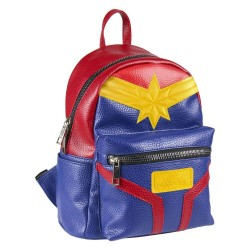 Captain Marvel sac à dos Casual Fashion Suit 22 x 23 x 11 cm