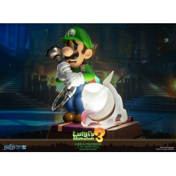 Luigi's Mansion 3 statuette PVC Luigi & Polterpup Collector's Edition 23 cm