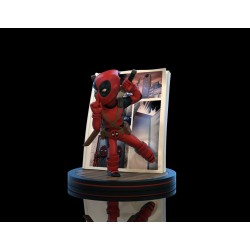 Marvel diorama Q-Fig Deadpool 4D 10 cm