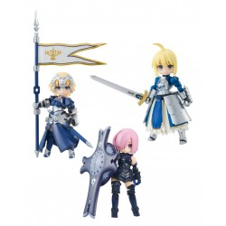 Fate/Grand Order Desktop Army assortiment figurines 8cm Masch & Altria & Jeanne (3)