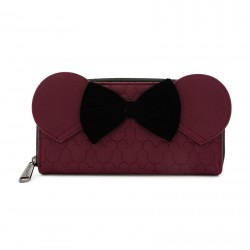 Disney by Loungefly Porte-monnaie Dark Red Mickey Mouse