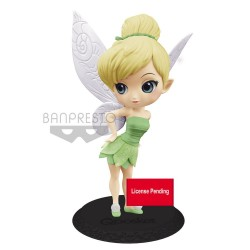 Disney figurine Q Posket Tinker Bell Leaf Dress Ver. B 14 cm
