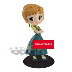 Disney figurine Q Posket Anna Surprise Coordinate Ver. A 14 cm