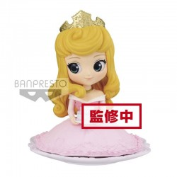 Disney figurine Q Posket SUGIRLY Princess Aurora Pastel Color Ver. 9 cm