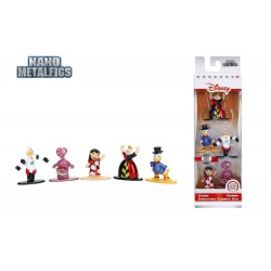 Disney pack 5 figurines Diecast Nano Metalfigs Wave 2 4 cm