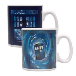 Doctor Who mug effet thermique Time Lord