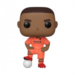 PSG POP! Football Vinyl Figurine Kylian Mbappé (Away Kit) 9 cm
