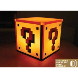 Super Mario Bros. lampe Question Block 18 cm