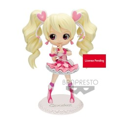 Fresh Pretty Cure! figurine Q Posket Cure Peach Ver. B 14 cm