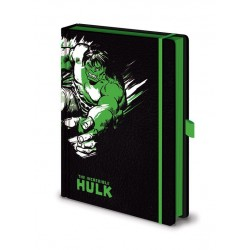 Marvel Comics carnet de notes Premium A5 Hulk Mono