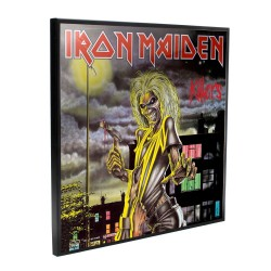 Iron Maiden décoration murale Crystal Clear Picture Killers 32 x 32 cm