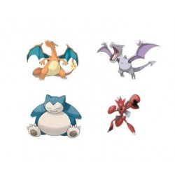 Pokémon série 5 assortiment figurines Battle Feature 11 cm (4)