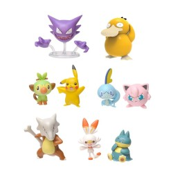 Pokémon série 5 assortiment packs figurines Battle 5-8 cm (6)