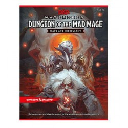 Dungeons & Dragons RPG Waterdeep: Dungeon of the Mad Mage - Maps & Miscellany *ANGLAIS*