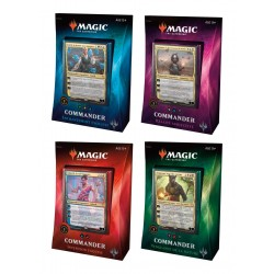 Magic the Gathering Commander 2018 présentoir de decks (4) *FRANCAIS*