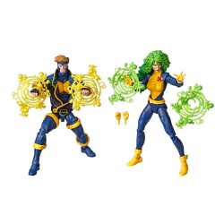 Marvel Legends 80th Anniversary pack 2 figurines X-Men Havok & Polaris 15 cm