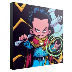 Marvel tableau en bois Doctor Strange by Skottie Young 30 x 30 cm