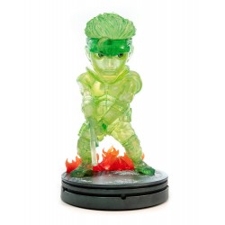 Metal Gear Solid statuette PVC SD Solid Snake Stealth Camouflage Neon Green Ver. 20 cm