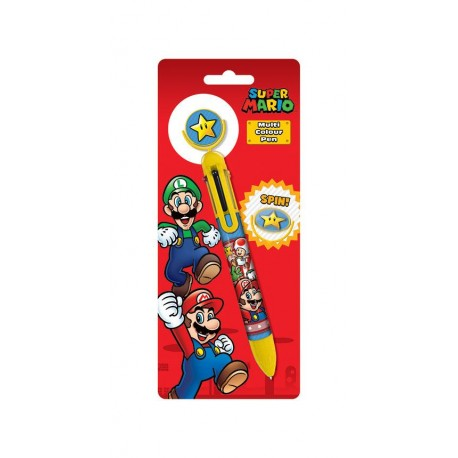Super Mario stylo 6 couleurs Burst