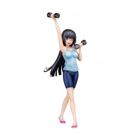How Heavy Are the Dumbbells You Lift? statuette 1/7 Akemi Souryuuin 21 cm